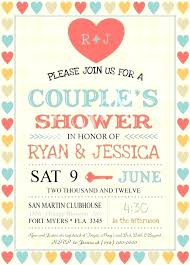 Free Bridal Shower Invitations Templates Beauteous Couples Bridal Shower Wonderful Bridal Shower Invitations Free