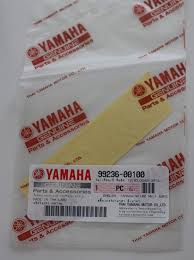 amazon yamaha 99236 00100 genuine yamaha decal sticker emblem logo 100mm x 23mm metallic silver self adhesive motorcycle jet ski atv
