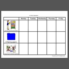Weekly Behavior Chart Rtsd Weekly Behavior Chart