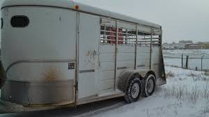 the trailer had rust in holes that held diy plexiglass covers for the windows we took those out since ventilation is important for a horse trailer