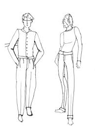 How To Draw Pants How To Draw Pants For Male Fashion Figures Dummies