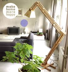 Diy Wood Floor Lamp Diy Floor Lamp Image Collections Home Fixtures Decoration Ideas