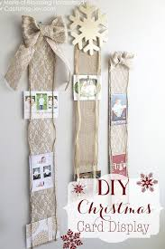 Free Standing Christmas Card Holder Display 100 DIY Christmas Card Holder Ideas How To Display Christmas Cards 69