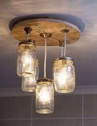 kitchen cute canning jar chandelier 13 diy mason complete e1485260448835 wonderful canning jar chandelier 18