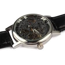 online buy whole wind up watch from wind up watch new men watch 2017 mens luxury handsome and wise amazing mechanical skeleton watch hand wind up