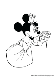 Minnie Mouse Coloring Pages Free To Print Free Coloring Mouse Pages