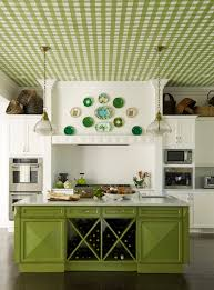 the custom painted ceiling by silvère boureau is the standout of the room gideon mendelson of the mendelson group says of this kitchen in purchase