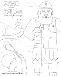 Jesus Storybook Bible Coloring Pages Adult David And Goliath