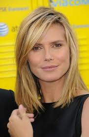 um length straight hairstyles for thick hair layered haircuts with side bangs
