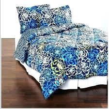 vera bradley bedspreads bedding sets bed set comforter blues queen swedish fl coverlet