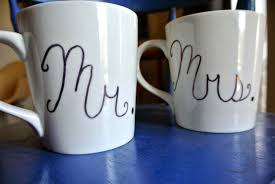 Step 2: Draw the design on the mug carefully. If you make a mistake use a q-tip  ...