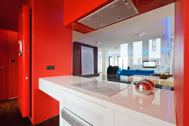 Red And Grey Kitchen Designs Gloss Red Kitchen Doors Minipicicom