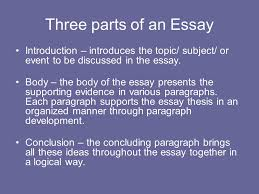 english skills chapter by john langan ppt video online three parts of an essay introduction introduces the topic subject or event to