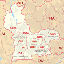 Image result for map of West Drayton, UB7