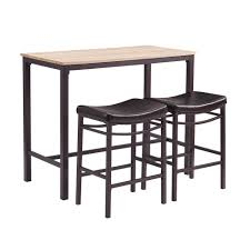 Contemporary Pub Table Set Terrific Wood And Metal Bar Height Table For Cool Recycled