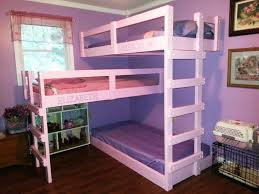 Image of: Triple Bunk Bed IKEA
