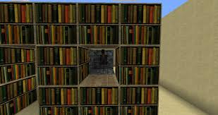 Diy Bookcase Minecraft Doherty House How Build Bookcase