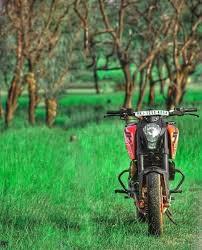 editing picsart background hd ktm bike