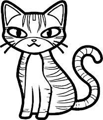 Girl Cat Coloring Pages Wecoloringpagecom