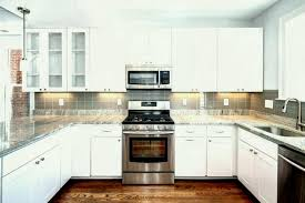 backsplash for black granite countertops top photo of kitchen tile o white cabinets with subway design