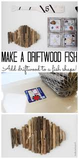diy fish decor using driftwood consumer crafts