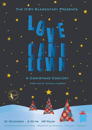 Christmas Concert Poster Icsv Elementarys 2013 Christmas Concert Poster Final Draft Dax