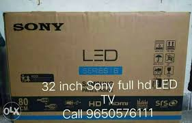 sony tv box. mark as favorite show only image. 32 inch sony led tv tv box