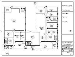 office room plan. The First Floor Is Primarily Dedicated To Administration, Office Work, And General Site Activities, Including Primary Mechanical Room Server/IT Plan