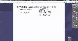 review for test chapter 6 linear equations