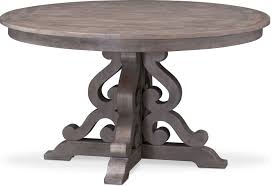dining room furniture charthouse round dining table gray