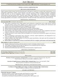 free office samples medical office administrator manager resume sample free plus