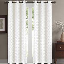 blackout curtains pair. Fine Curtains Willow Pair Set Of 2  Jacquard Blackout Thermal Insulated Window Curtain  Panels  Walmartcom Throughout Curtains C