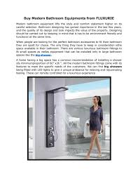 Modern and contemporary bathroom vanities for master bathrooms, kids and guest bathrooms, and powder rooms from leading italian manufacturers. Buy Modern Bathroom Equipments From Fluxurie By Andreas Kosmatos Issuu