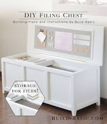 office storage solution. DIY Filing Chest - Our Home Office Is A Small Space, And Tall, Boxy Cabinet Always Made It Feel Extra Crowded. To Create Solution That Didnt Storage L