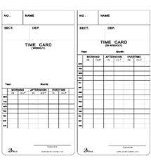 Bi Weekly Time Card David Link T 7300 Weekly Bi Weekly Time Cards