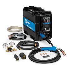 Miller 907518 Multimatic 200 Multiprocess Welder 110v 230v Mig Tig Stick