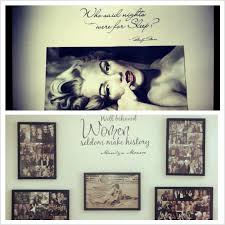 My Bedroom!! Only Black And White Or Sepia Colored Pictures!! With Marilyn