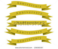Anniversary Ribbon Anniversary Ribbon Vector Download Free Vector Art Stock Graphics