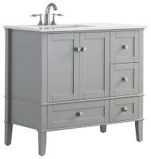 1st avenue arley bathroom vanity left offset 36 bathroom vanities and