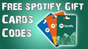 how to get free spotify gift card free spotify codes 2019