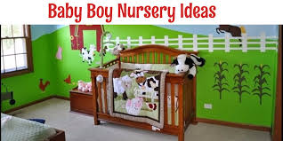 unique baby boy nursery themes and