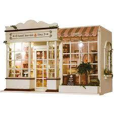 Amazon Rylai Wooden Handmade Dollhouse Miniature DIY Kit