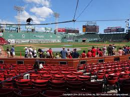 Fenway Park Concert Seating Chart 3d Fenway Park View From Field Box 43 Vivid Seats