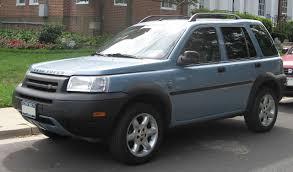 File:2002-2003 Land Rover Freelander.jpg - Wikimedia Commons