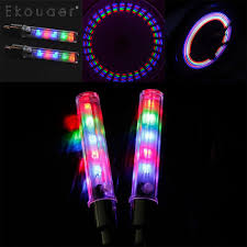 Us 1 13 12 Off Bicycle Decorative Light 5 Leds Bicycle Tire Valve Cap Tube Lights Waterproof Styling 7 Flash Function Emergency Warning Light In