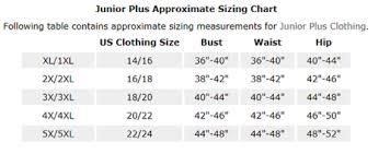 Junior Pants Size Chart Womens Juniors Clothing Size Chart Prada Womens Clothing