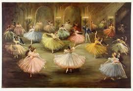 Carlotta Edwards 1950s | Dance paintings, Ballerina painting, Dance art