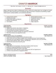 Objective For Legal Assistant Resume Resumeegal Secretary Examples Bibliography Apaaw chief 43
