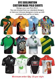 How To Make Sublimation Jersey Design Impact Gear Dye Sublimated Polo Shirts Custom Made Cool