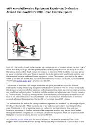 Bowflex Pr3000 Workout Chart